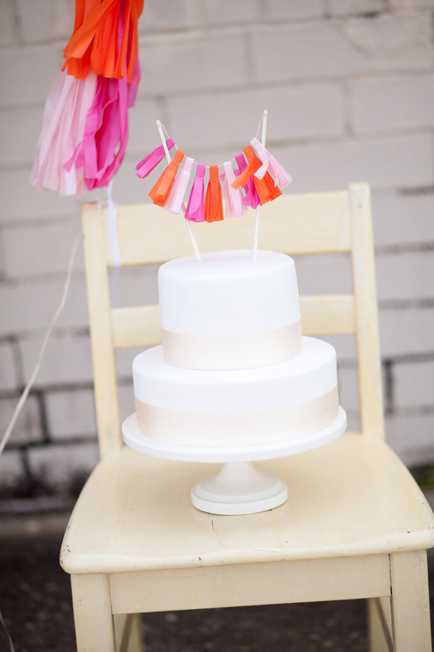 Tassle garland Cake Topper