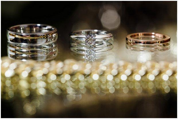 Black & Gold: Contemporary, Art Deco Influenced Wedding: Natalie & David