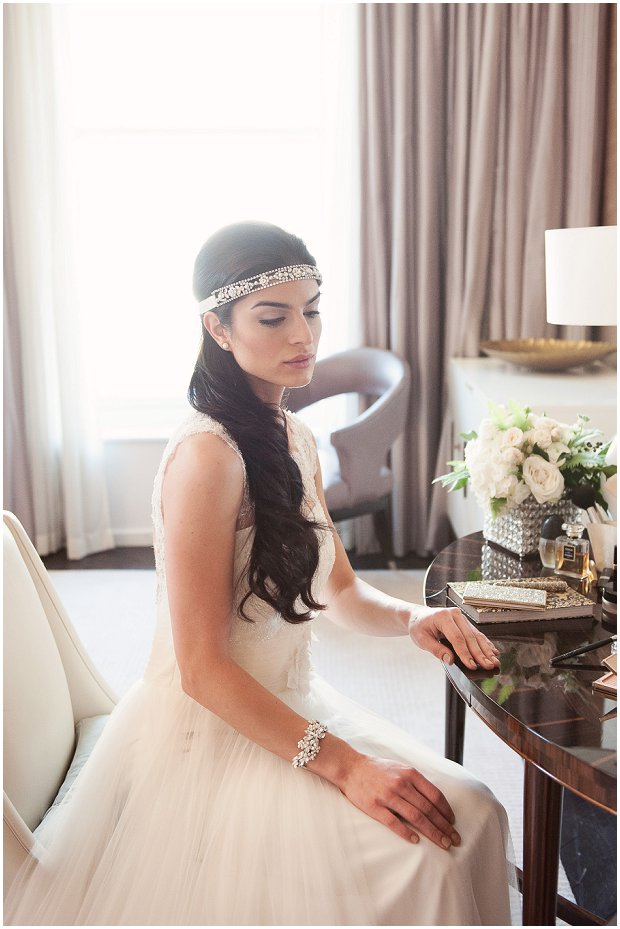Luxury Romantic & Art Deco Inspired Bridal Accessories by Olivier Laudus
