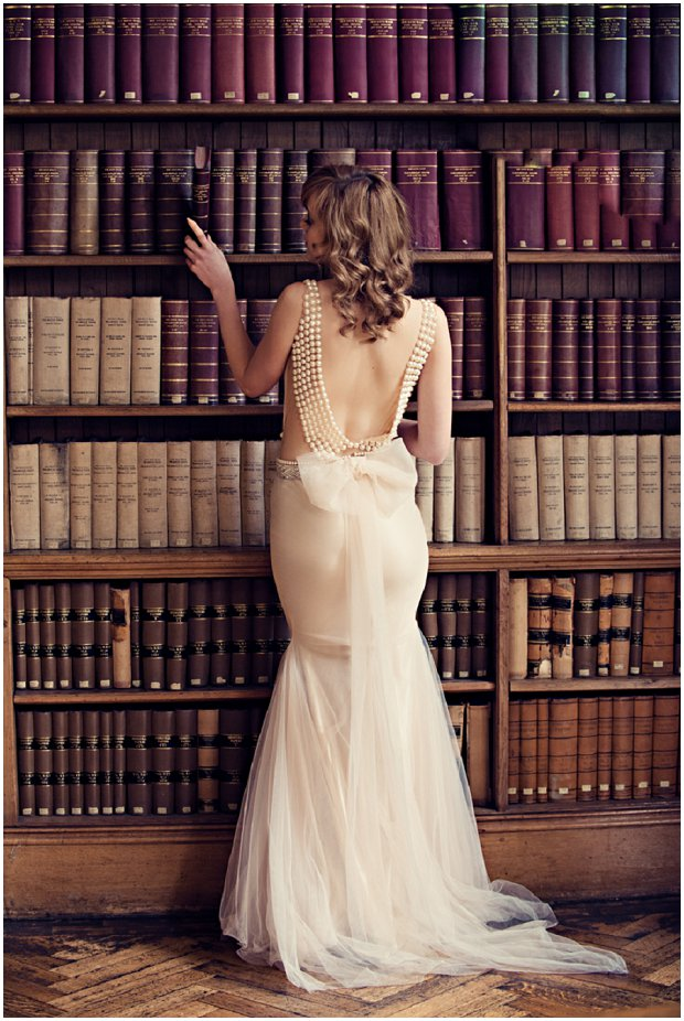 Sexy Wedding Gowns by Zahavit Tshuba: Rhodes House Styled Shoot | Oxford