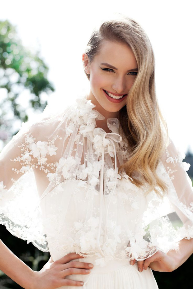 Wedding Trends 2014: Chic Spring / Summer Cover Ups   Capes   Cloaks   Shawls & Jackets