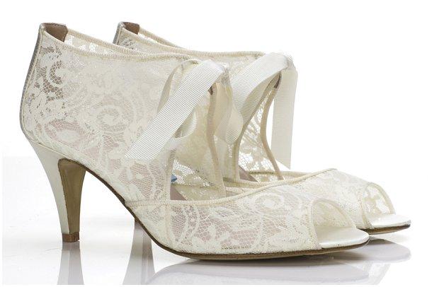 Super Glam Wedding Shoes by Harriet Wilde