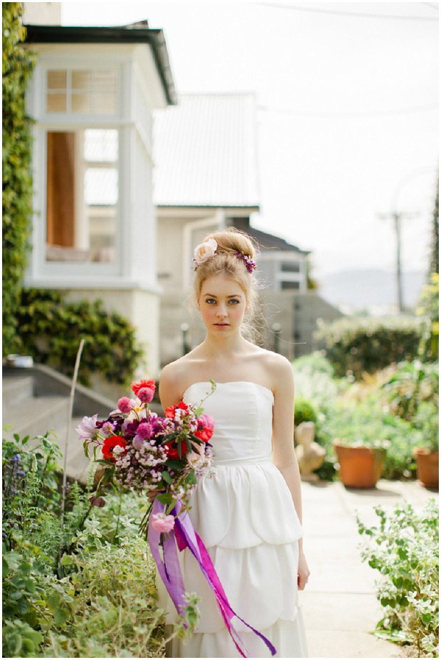 The Flower Bride: Floral Inspired | Kelsey Genna Wedding Dresses