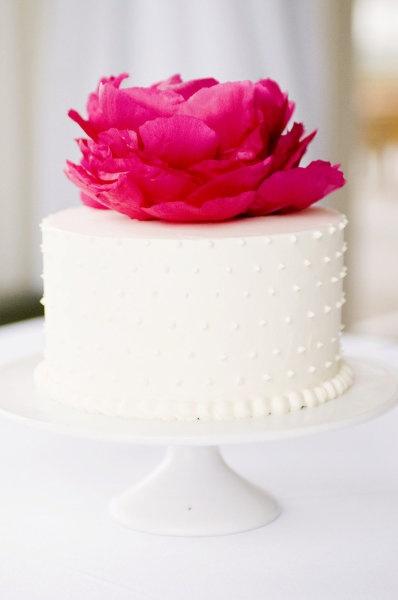 large floral cake topper