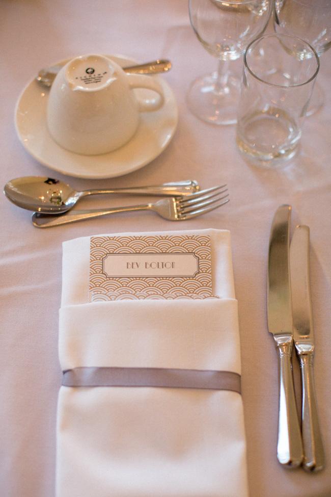 A Vintage Glamour | Black Tie Real Wedding: Gill & Jonny