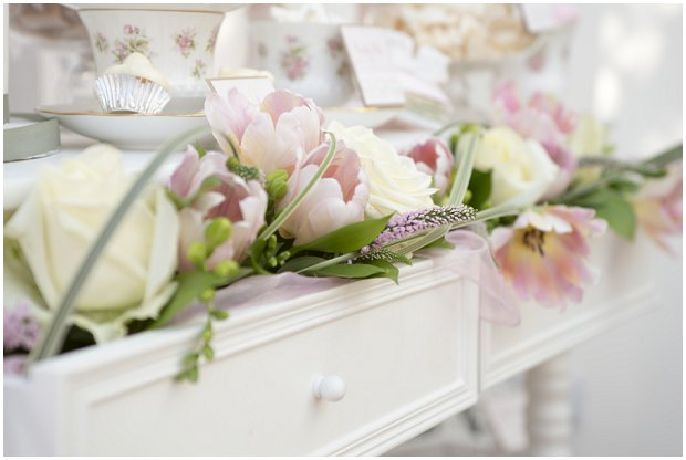 romantic, vintage inspired dessert table with a soft colour palette of pinks, ivory's and nudes_0000