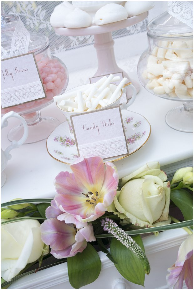 romantic, vintage inspired dessert table with a soft colour palette of pinks, ivory's and nudes_0014