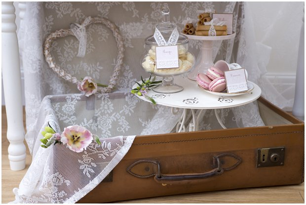 romantic, vintage inspired dessert table with a soft colour palette of pinks, ivory's and nudes_0022
