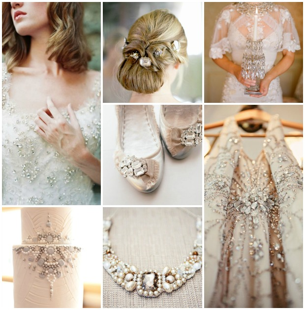 Statement Gems & Jewels: Wedding Inspiration & Bridal Style