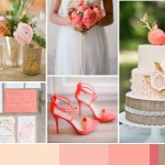 Burlap, Blush & Coral: Wedding Inspiration | Colour Ideas