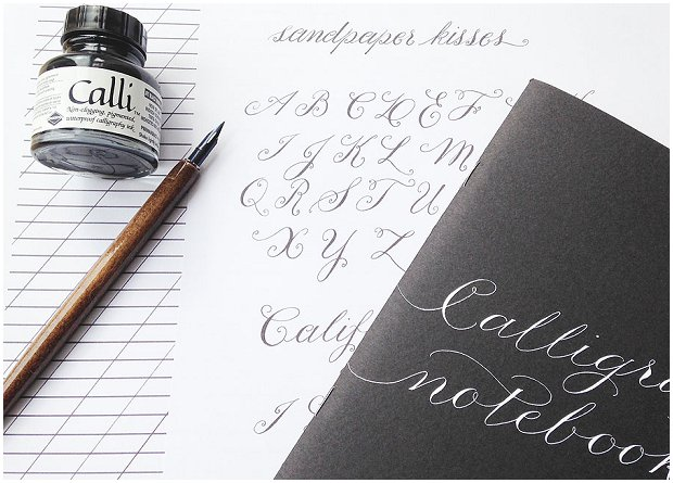DIY Calligraphy Wedding Stationery | Starter Kit