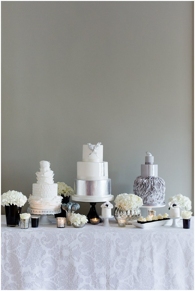Contemporary, Modern & Trendy Wedding Cakes by Krishanthi Grey, Soft Mauve and Metallic_0000