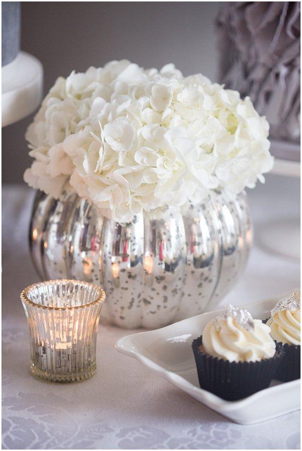 Contemporary, Modern & Trendy: Wedding Cakes by Krishanthi   Grey, Soft Mauve and Metallic