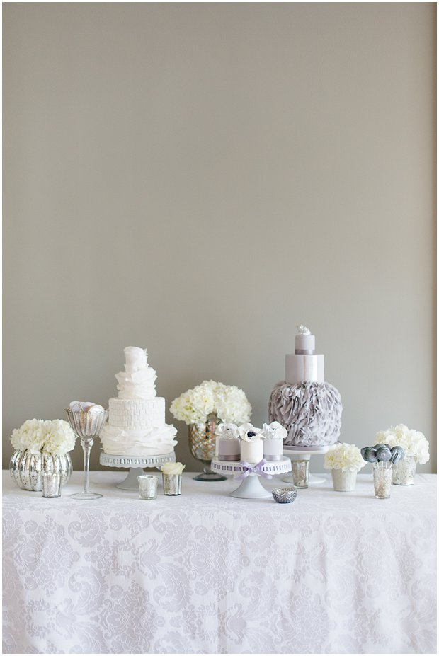 Contemporary, Modern & Trendy Wedding Cakes by Krishanthi Grey, Soft Mauve and Metallic