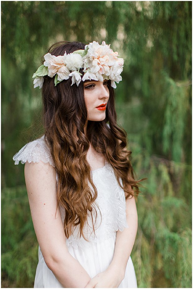 Handmade Floral Headpieces: By Mignonne | Spring Flowers Collection 2014
