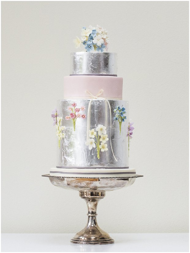 Floral Couture: Wedding Cake Trend | Rosalind Miller Luxury Wedding Cakes