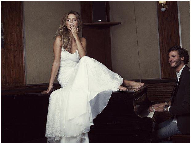 Rime Arodaky 2014 | Bohemian Retro Cool Wedding Dresses