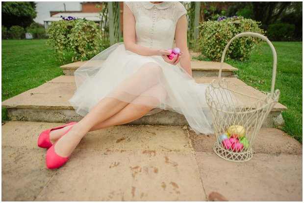 Spring Garden | Easter Styled Wedding Shoot: Pink & Gold