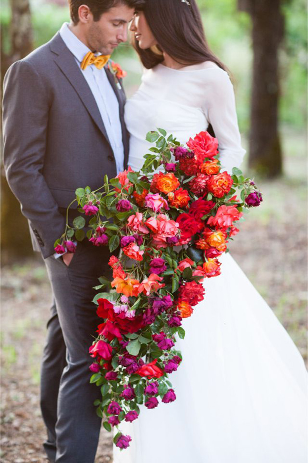 Super Brights | Orange & Pink: Wedding Ideas + Colour Inspiration
