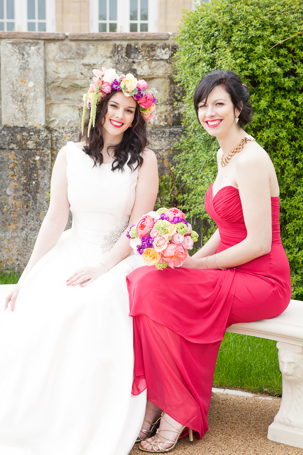 Summer Super Brights | A Fresh, Colourful & Bold Styled Bridal Shoot