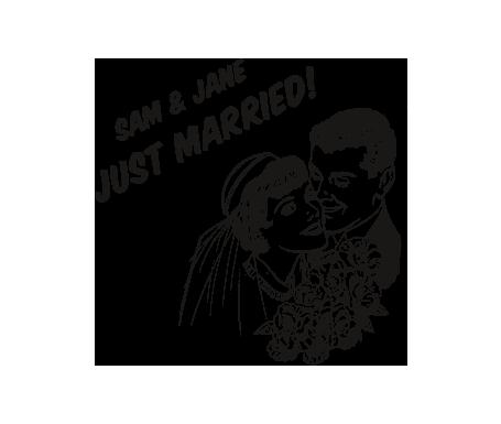 Unique Wedding Idea | Tattoo Your Wedding (Con)temporary Tattoos