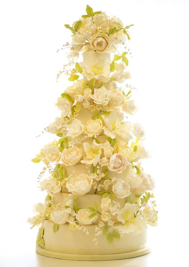 Floral Couture: Wedding Cake Trends | Rosalind Miller Luxury Wedding Cakes