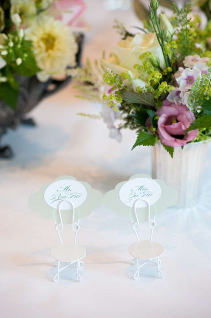 Pretty Emerald Green Garden Wedding: Zoé & René