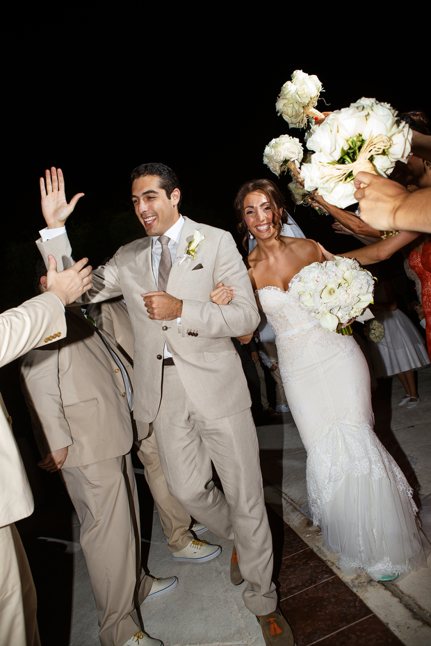 Beautiful Beach Wedding in The Turks & Caicos Islands: Susana & Peter