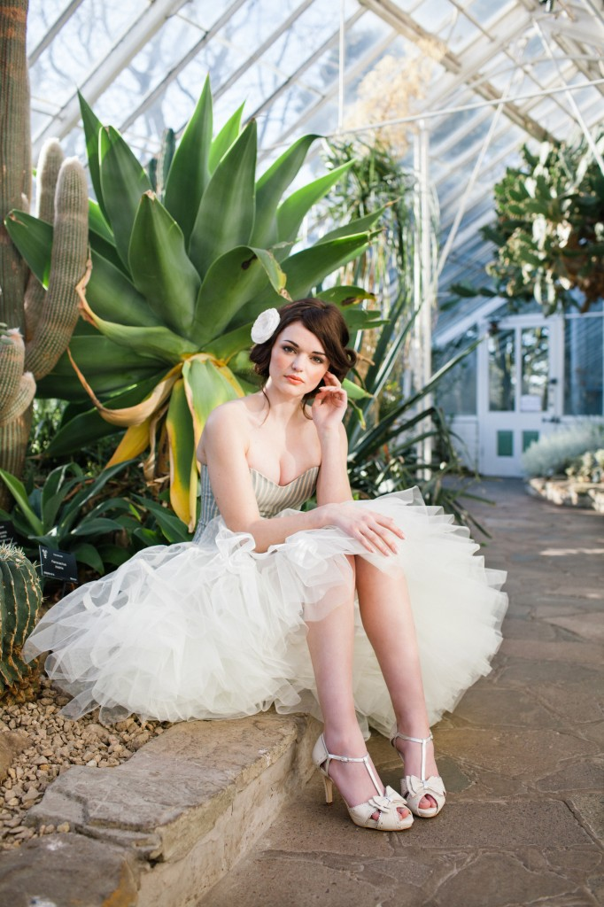 Botanical Garden Shoot - Rachel Simpson Wedding Shoes
