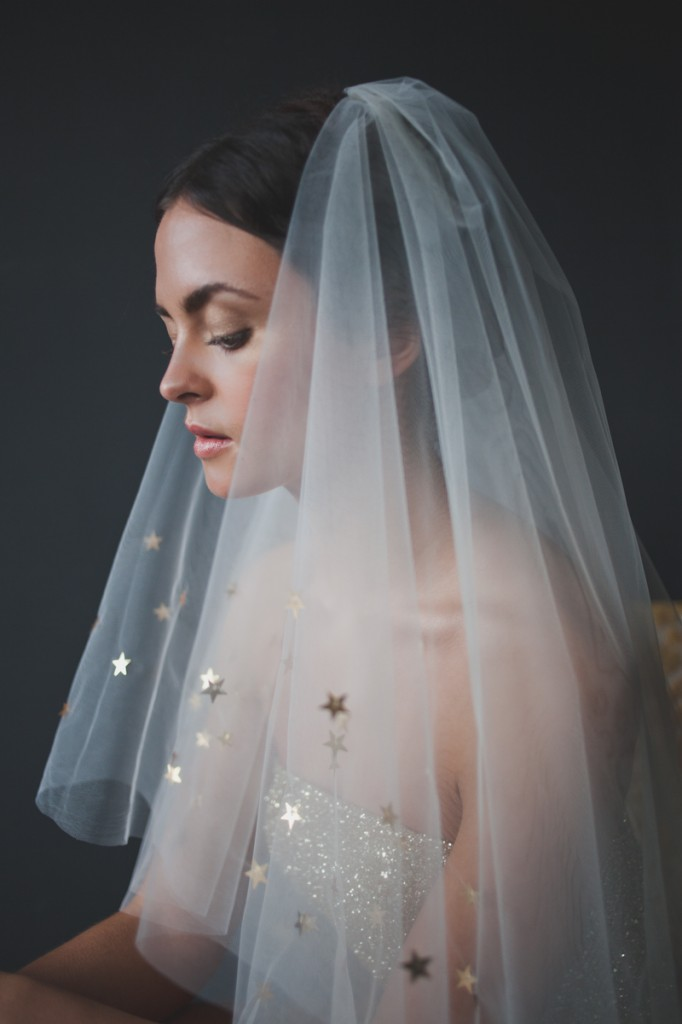 Metallic & Glittering Gold Headpieces + Veils | What Katy Did Next: The Reign Collection