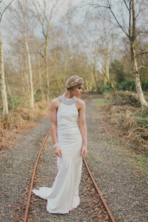 boho luxe bridal gown