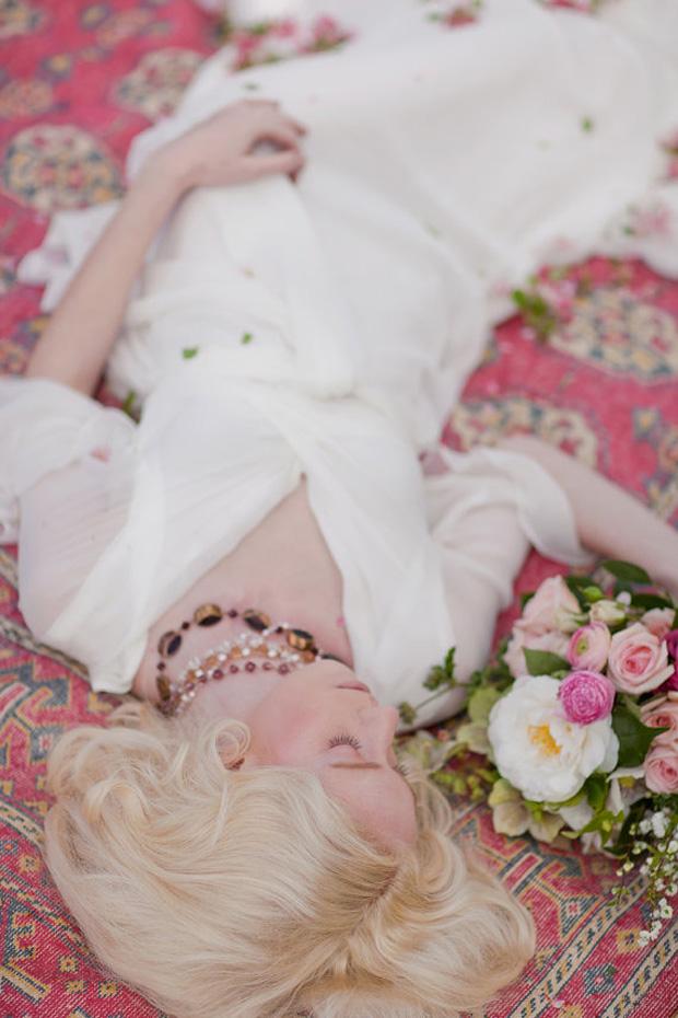 ethereal boho wedding dress