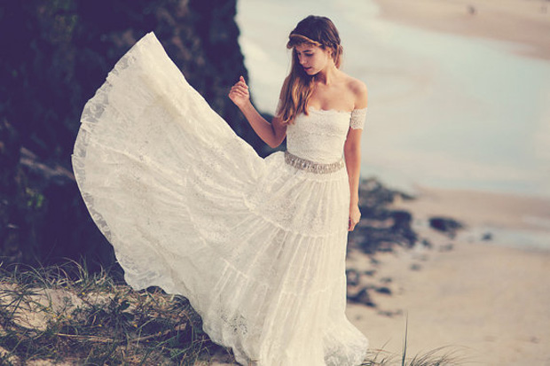 Gypsy Boho Wedding Dress