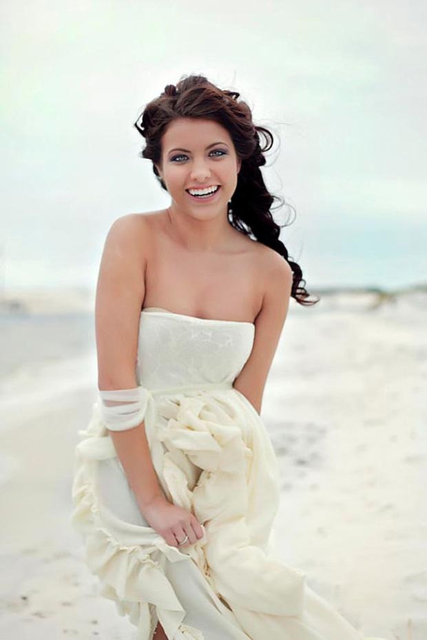 perfect boho beach gown