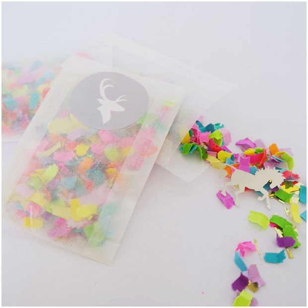 Wedding Confetti Ideas! Confetti Crush: Unicorns, Neon & Gold!