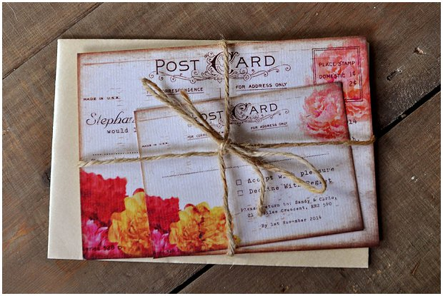 Els-Design.com Floral vintage postcard