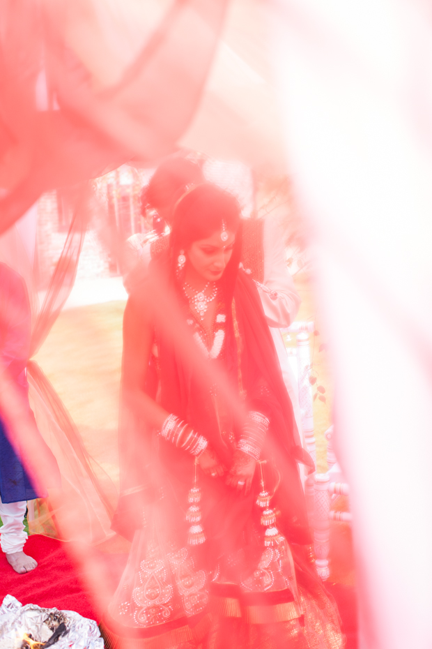 A Colourful, Anglo-Indian Barn Wedding: Nisha & Adam