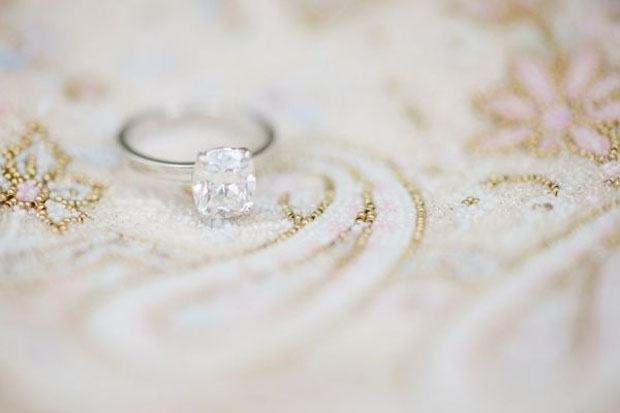 Perfect solitaire Wedding Ring