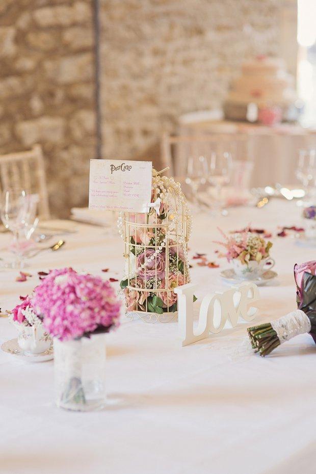 Shabby Chic Vintage Wedding - Pink_0136