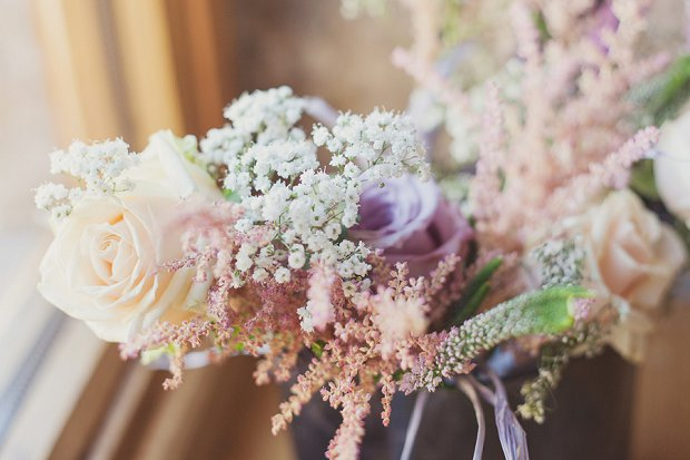 Vintage Shabby Chic | Dusky Pink Real Wedding: Amy & Gavin