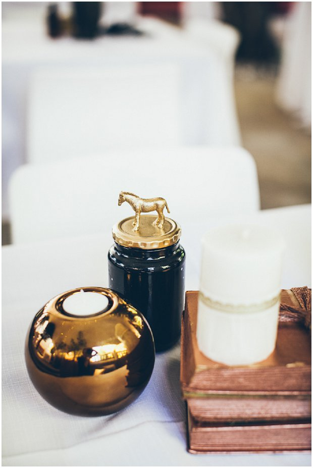 Black, Bronze, Copper & Gold Real Wedding: Shaun & Sam