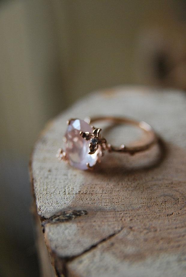 Vintage Quartz Ring