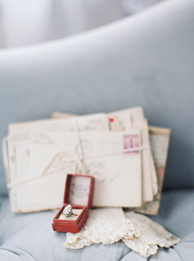 Vintage wedding ring - Kate Ignatowski Photography