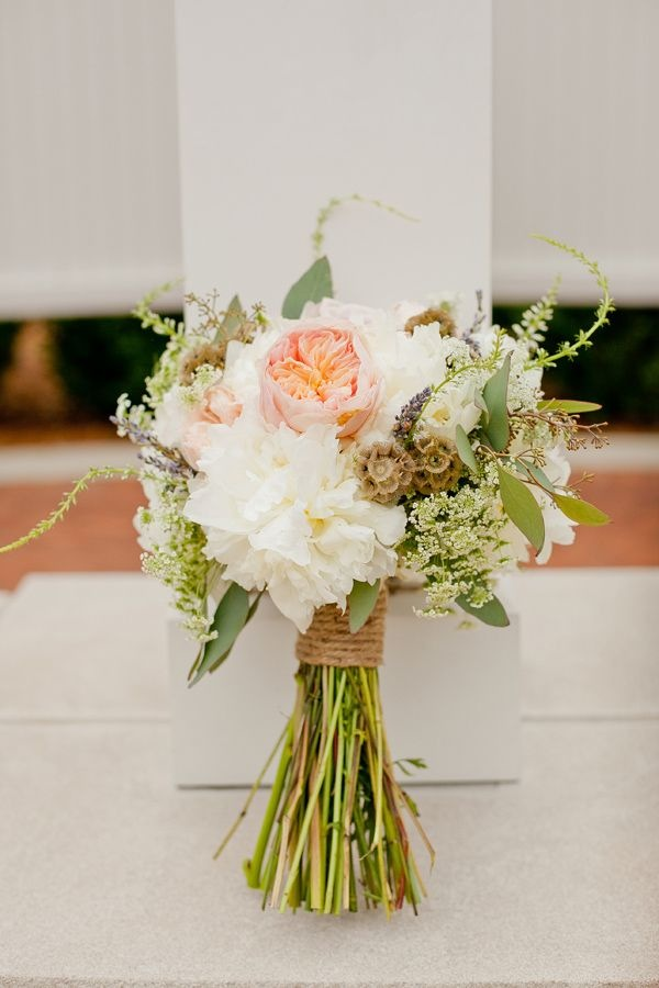 How To Create A Rustic Bridal Bouquet