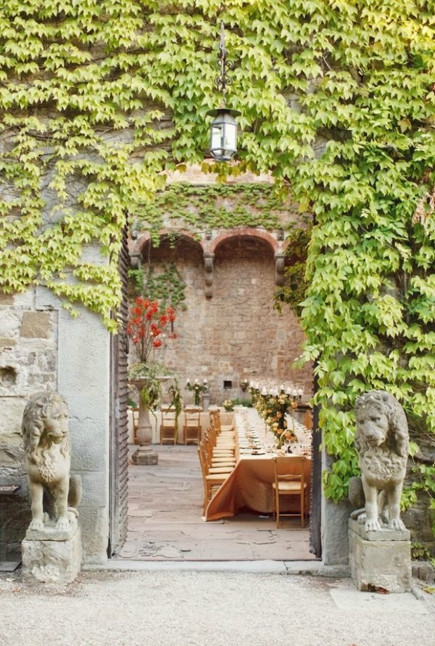 Tuscan Romance: Italian Wedding Inspiration
