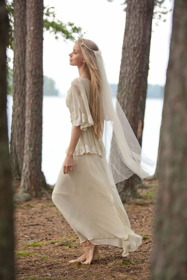 Vintage Inspired Boho Wedding Dresses: The Minna Sample Sale!