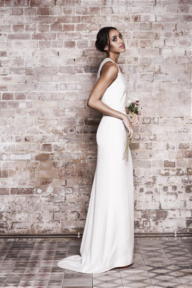 Great British Modern Wedding Dresses: Muscat London 2014