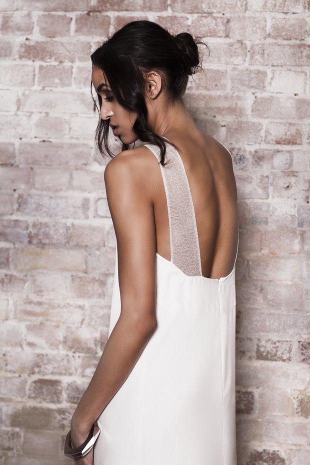 Great British Modern Wedding Dresses: Muscat London 2014