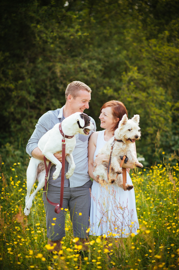 Pet Pooch Engagement Shoot: Nick & Hannah