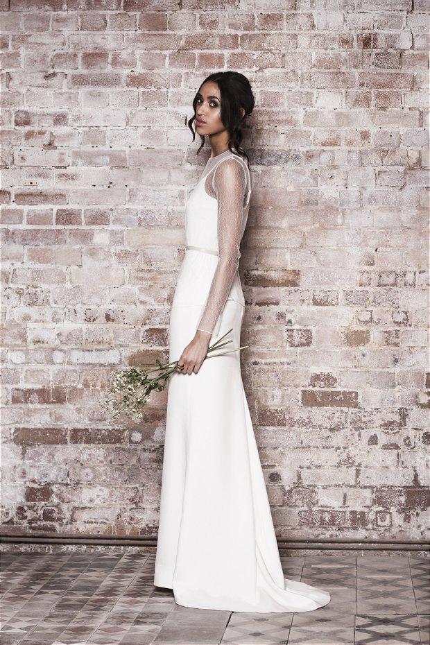 Modern Wedding Dresses : Muscat London 2014